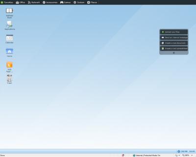 OS Main Screen