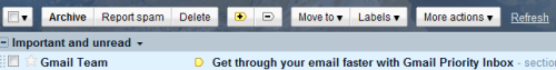 The Priority Inbox of Gmail