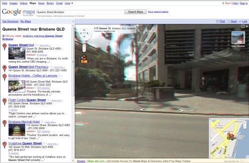 Google Street View 3D