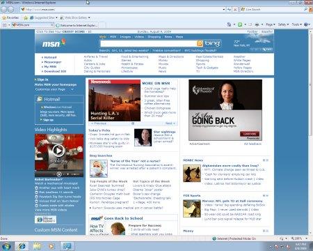 Windows 7 Internet Explorer