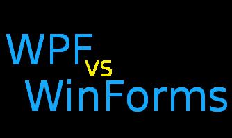 WPF vs Winforms