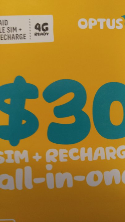 Discount Prepaid-Mobile - Optus - $10