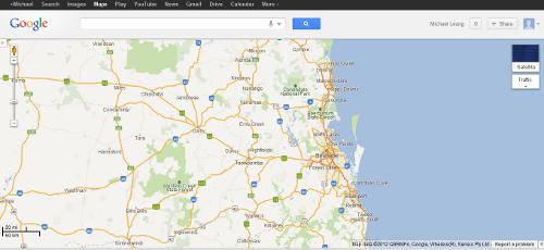 Google Map in MapGL