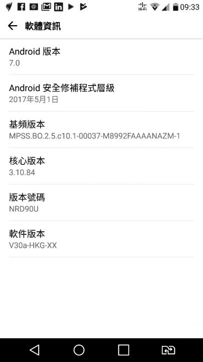 LG V10 got Android 7