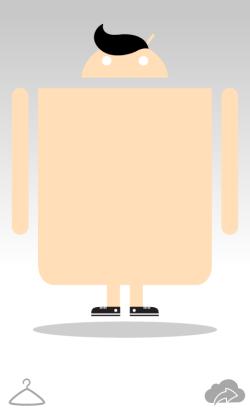 製造自家機械人 - Androidify
