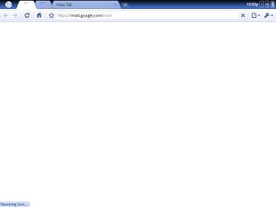 Chrome OS browser