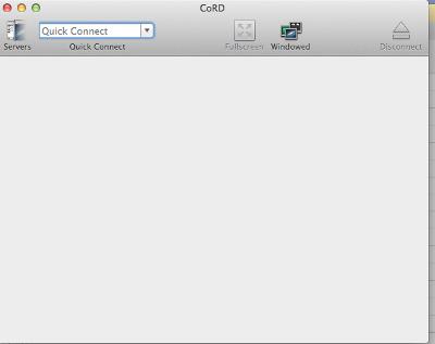 RDP Client in Mac - CoRD